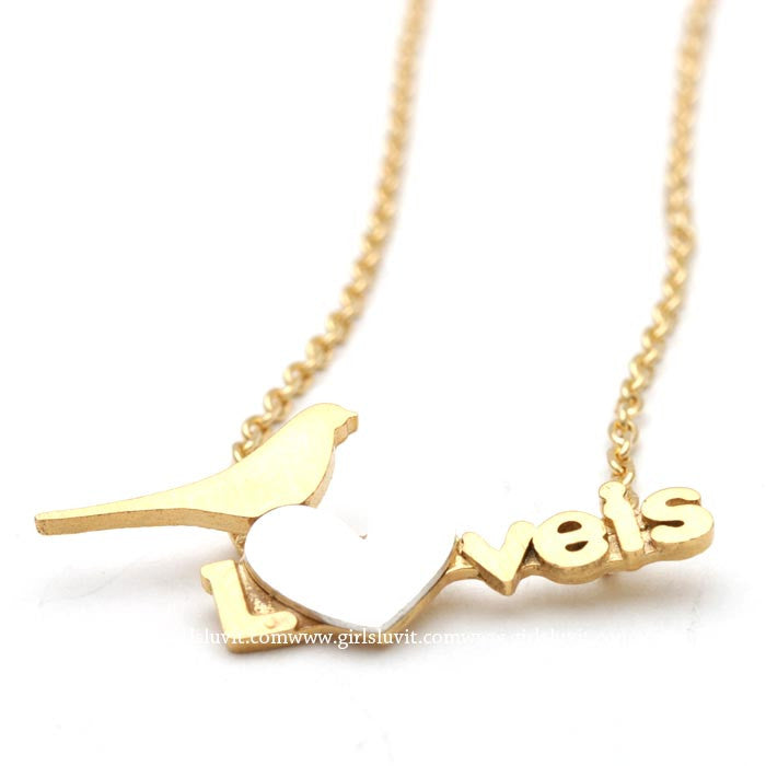 love is necklace - girlsluv.it