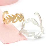 loveyou ring, adjustable - girlsluv.it  - 2
