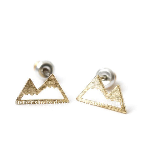 mountain earrings - girlsluv.it