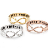 best friends infinity ring, twisted - girlsluv.it  - 2