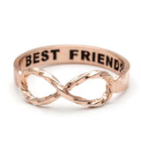 best friends infinity ring, twisted - girlsluv.it  - 4