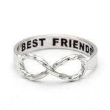 best friends infinity ring, twisted - girlsluv.it  - 1