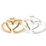 open heart knuckle ring - girlsluv.it  - 2