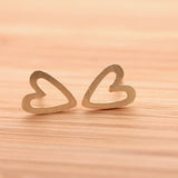 open heart earrings - girlsluv.it  - 2
