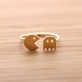 adjustable PACMAN ring, 2 colors - girlsluv.it  - 3
