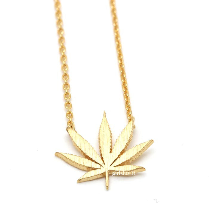 marijuana necklace - girlsluv.it