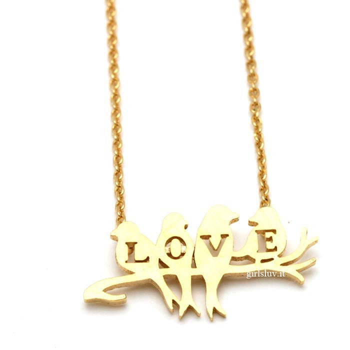 love birds necklace - girlsluv.it
