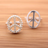 PEACE ring with pearl beads decorated - girlsluv.it  - 3