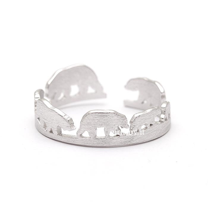 Polar Bear Ring, 2 Colors