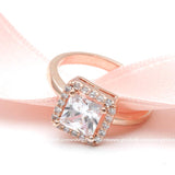 halo engagement ring, square - girlsluv.it  - 2