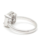halo engagement ring, square - girlsluv.it  - 4