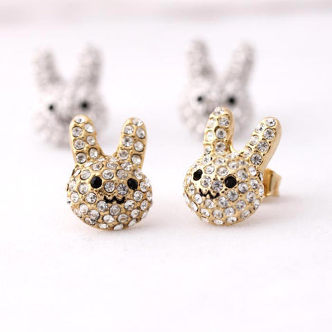 bunny earrings - girlsluv.it  - 1