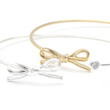 ribbon with crystal bracelet, adjustable - girlsluv.it  - 1