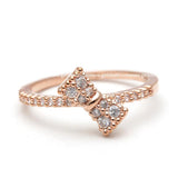tiny ribbon ring, crystals - girlsluv.it  - 5