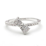 tiny ribbon ring, crystals - girlsluv.it  - 4