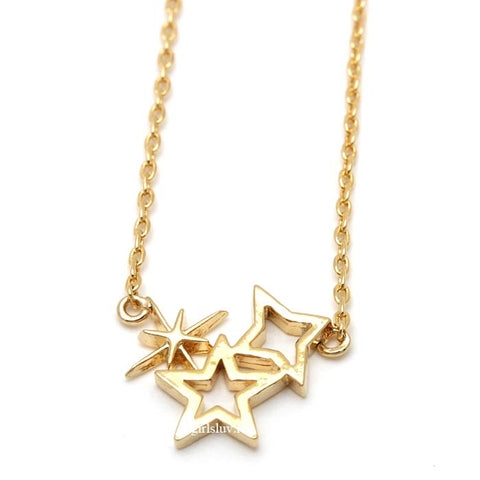 shining star necklace - girlsluv.it