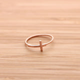 sideways cross ring, twisted - girlsluv.it  - 6