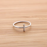 sideways cross ring, twisted - girlsluv.it  - 7