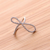 sideways infinity ring - girlsluv.it  - 3