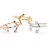 anchor ring, twisted - girlsluv.it  - 2