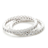 band ring, crystals - girlsluv.it  - 2