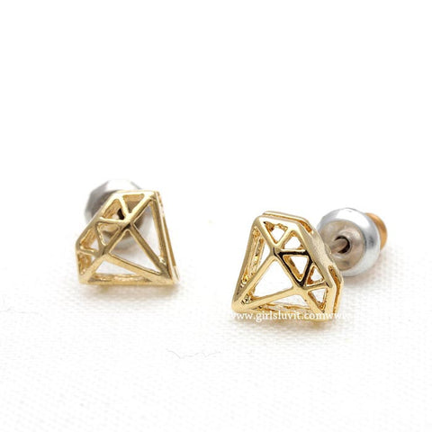 diamond earrings - girlsluv.it  - 1