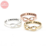 best friends infinity ring - girlsluv.it  - 2