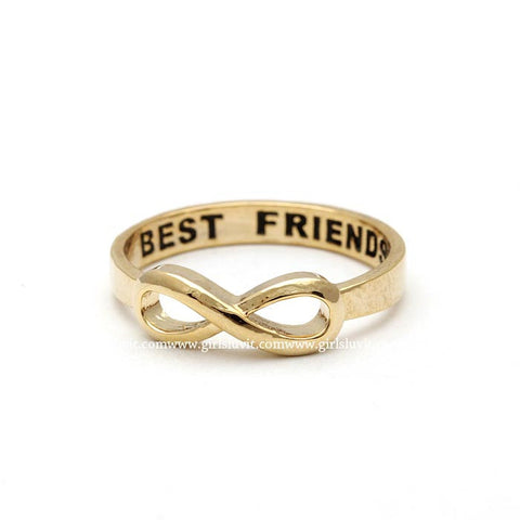 best friends infinity ring - girlsluv.it  - 1