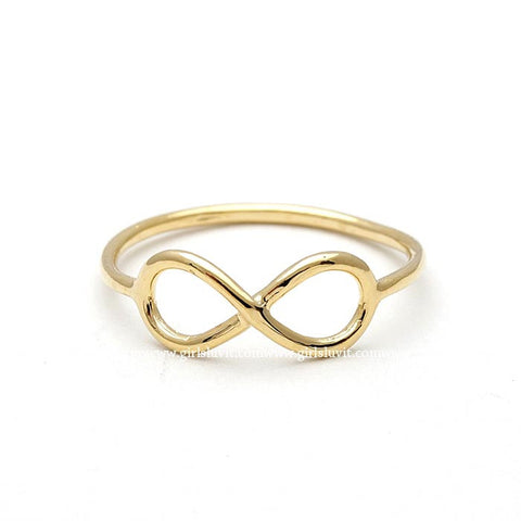 simple infinity ring - girlsluv.it  - 1