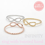 infinity ring, twisted - girlsluv.it  - 2