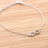 infinity bracelet, crystals - girlsluv.it  - 3