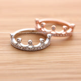 tiara ring, crystals - girlsluv.it  - 2