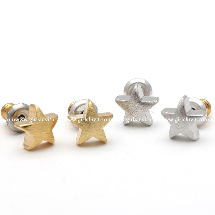 star earrings - girlsluv.it  - 1