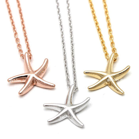 starfish necklace - girlsluv.it