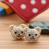 bear earrings - girlsluv.it  - 2