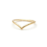 simple CHEVRON ring, 3 colors - girlsluv.it  - 1