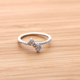 tiny ribbon ring, crystals - girlsluv.it  - 6