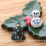 tree and snowman earrings - girlsluv.it  - 2