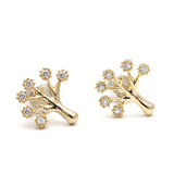 tree earrings, crystals - girlsluv.it  - 1