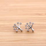 tree earrings, crystals - girlsluv.it  - 2