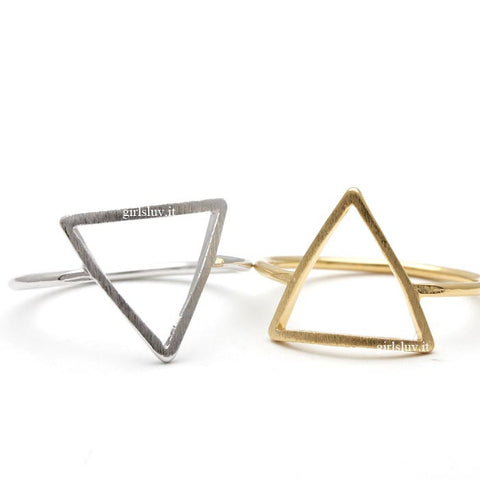 triangle ring - girlsluv.it