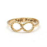 best friends infinity ring, type 3 - girlsluv.it  - 2