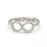 best friends infinity ring, type 3 - girlsluv.it  - 3