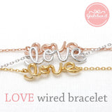 love bracelet, wired - girlsluv.it  - 2