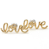 LOVE wired stud earrings, 3 colors - girlsluv.it  - 2