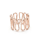 wired SWIRL ring, 3 colors - girlsluv.it  - 2
