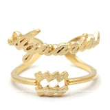 zodiac ring, aquarius zodiac ring, aquarius - girlsluv.it  - 2