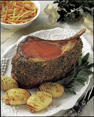 """Five Bone Standing Rib Roast""   ($15.49/lb.)"