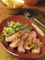 London Broil--2 lb roast ($8.49/lb.)
