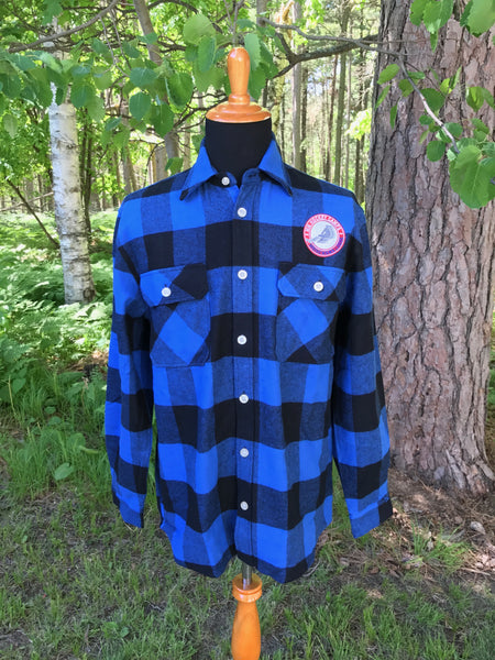 Varsity Flannel Shirt/Jacket